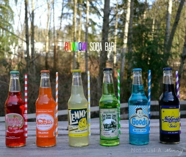 Rainbow Soda Bar