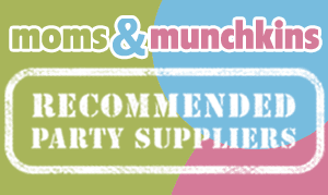 Recommended Party Suppliers Button