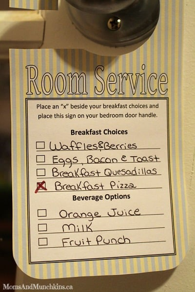 Room Service Template