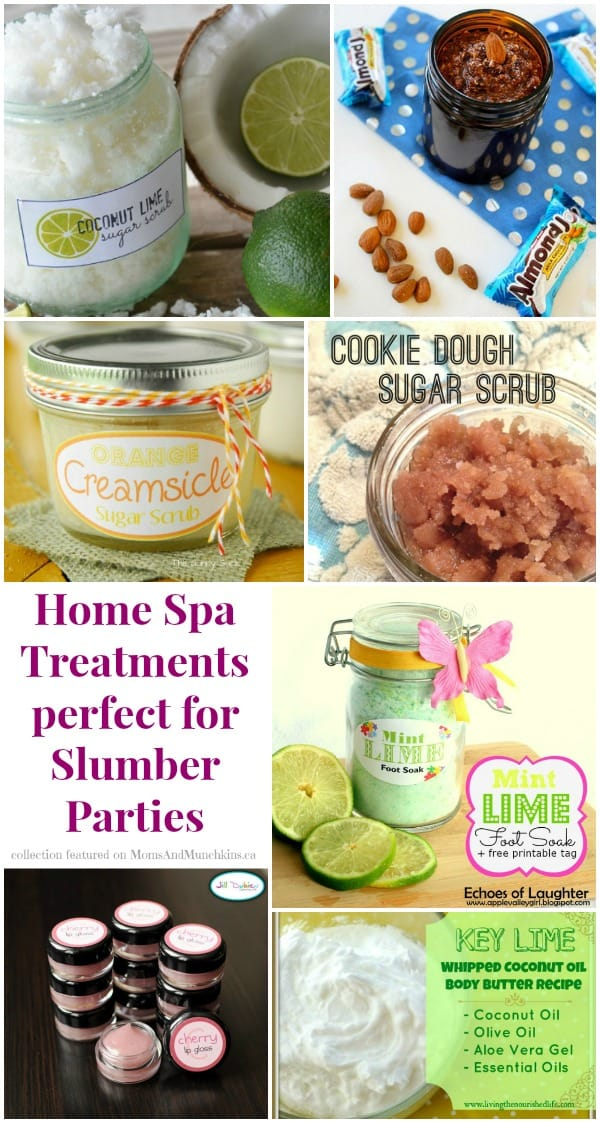 Slumber Party Activities - Spa Treatments