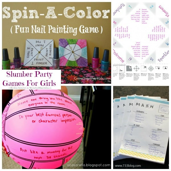 Slumber Party Games for Girls