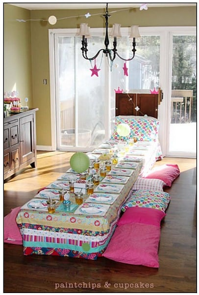 Slumber Party Ideas For Girls (Collection) - Moms u0026 Munchkins