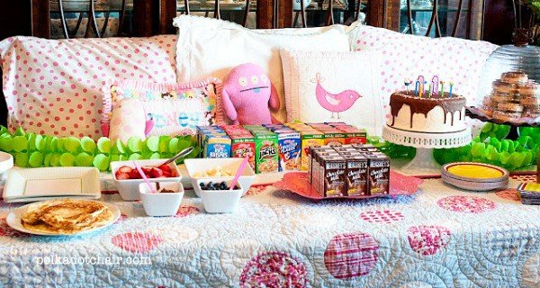 Slumber Party Ideas For Girls