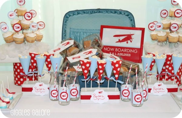 Prepare For Takeoff Airplane Birthday Party Ideas Moms