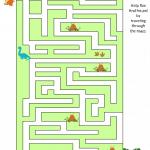 Dinosaur Game Maze
