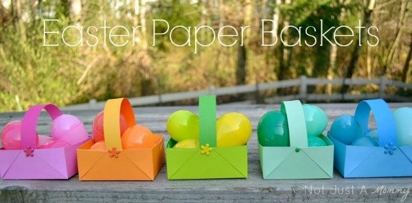 Easter Paper Baskets
