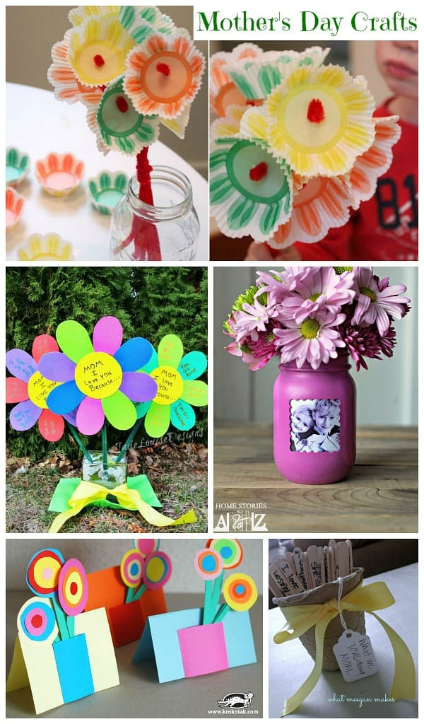 Mother\'s Day Craft Ideas (Collection) - Moms & Munchkins
