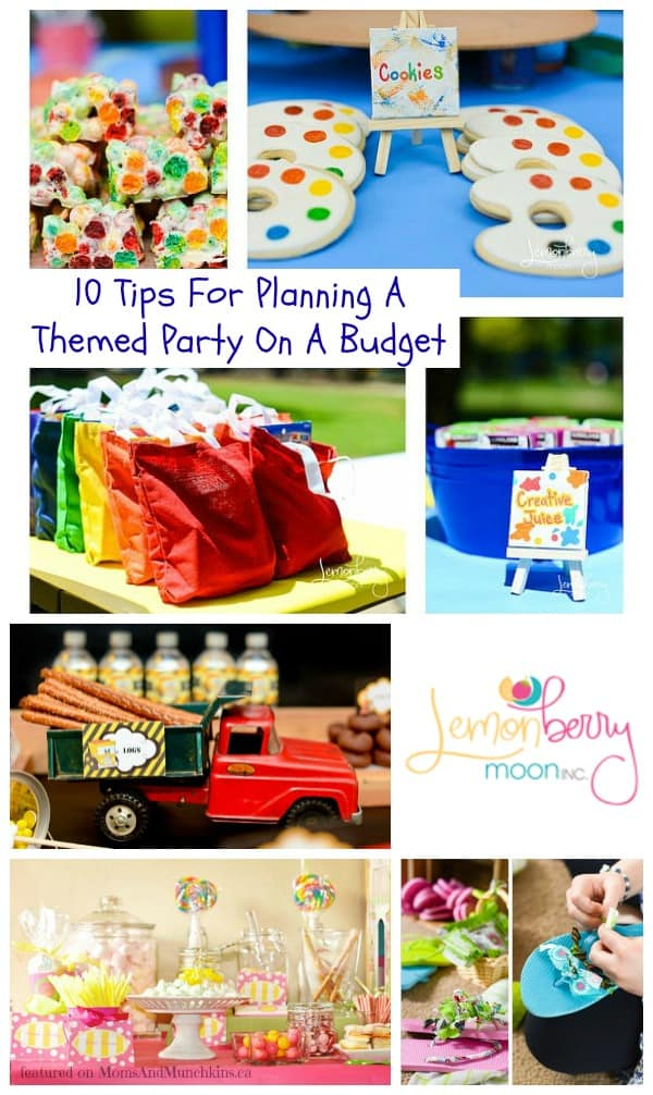 Themed Party On A Budget