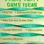 Swamp Party Games