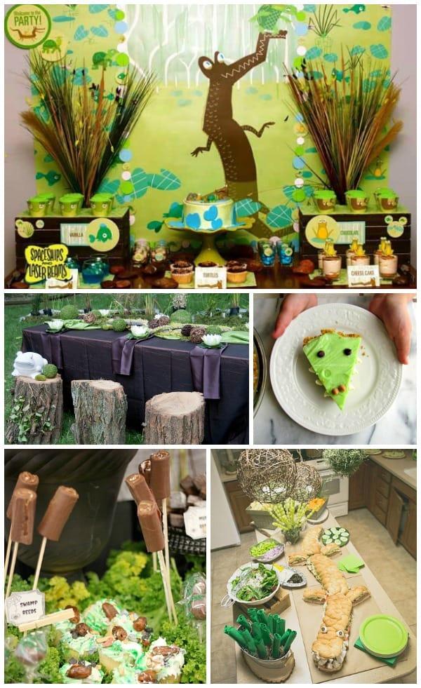 Swamp Birthday Party