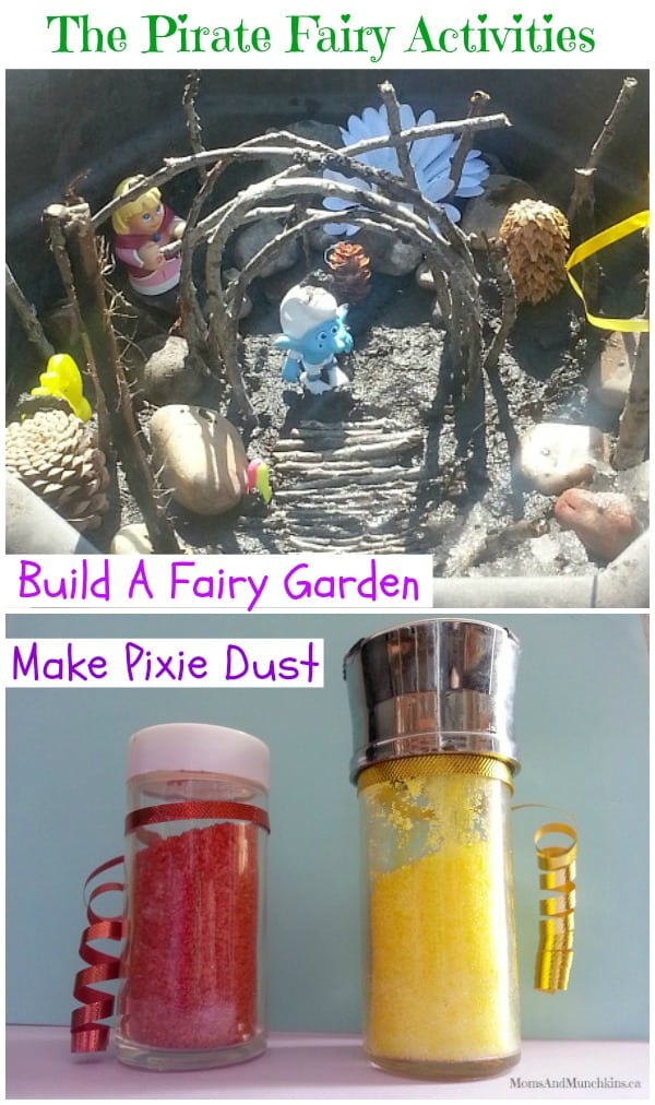 The Pirate Fairy Activities