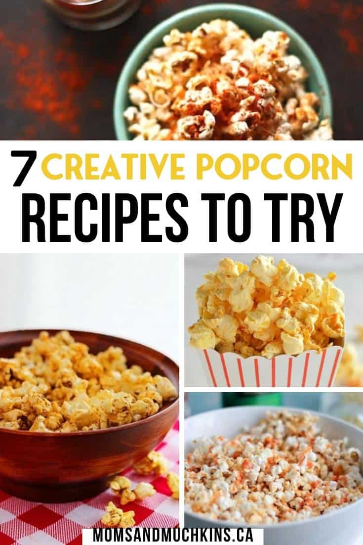 Creative Popcorn Recipes