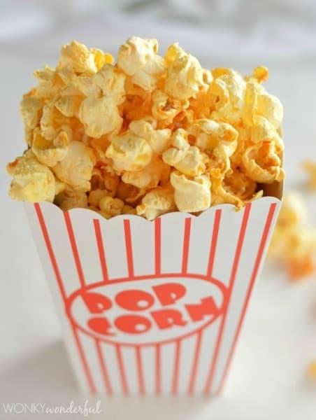 flavored popcorn recipes
