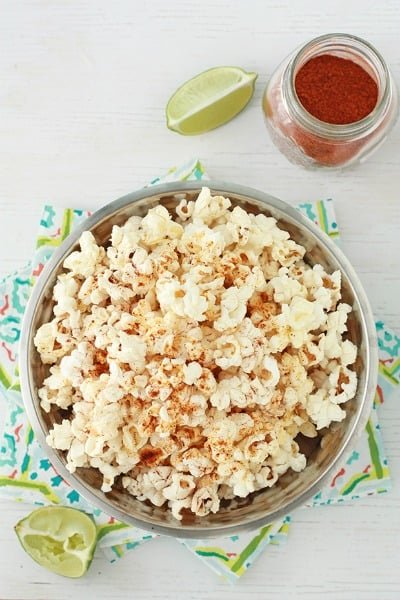 This Buffalo Parmesan Popcorn by Bake Your Day is perfect for those of ...