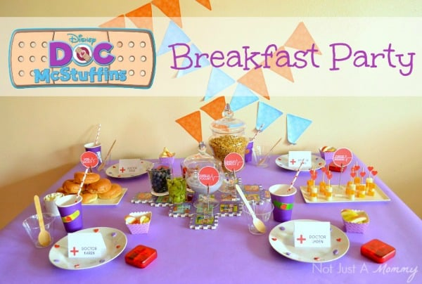 Doc McStuffins Party & Doc McStuffins Party (Free Printables) - Moms \u0026 Munchkins