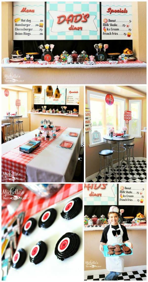 Retro Diner Party