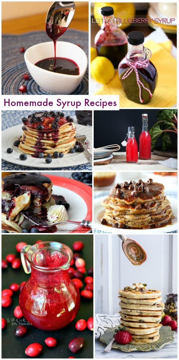 Homemade Syrup Recipe