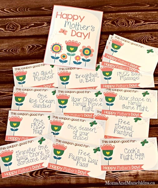 Mother S Day Ideas Free Printables And More Moms