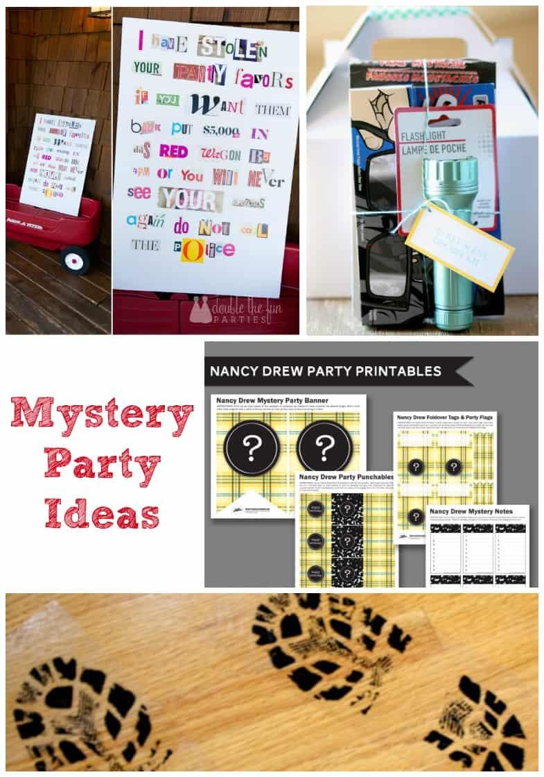 Mystery Birthday Party
