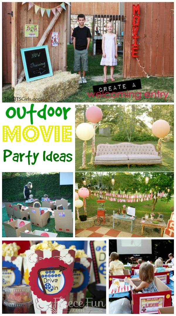 Movie Party Ideas Perfect For A Drive In At Home Home Decorators Catalog Best Ideas of Home Decor and Design [homedecoratorscatalog.us]