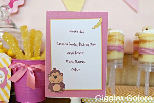 Monkey Party Ideas