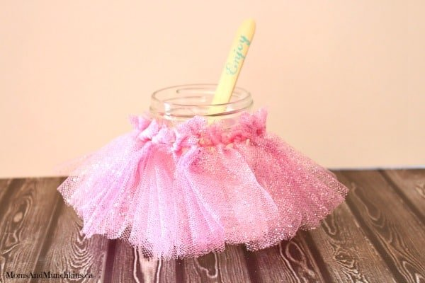 Ballerina Cheesecake Tutu Jar