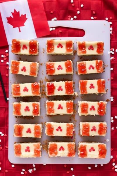 Canada Day Desserts