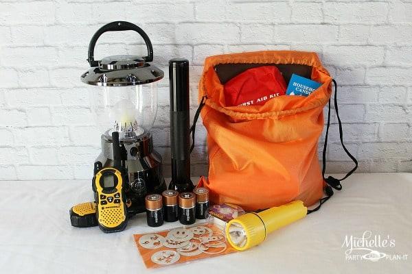 Emergency Preparedness Kit - Activities For Kids