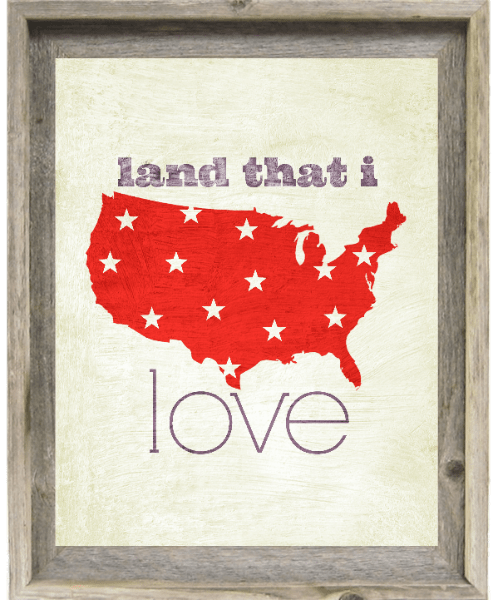 4th of July Printables