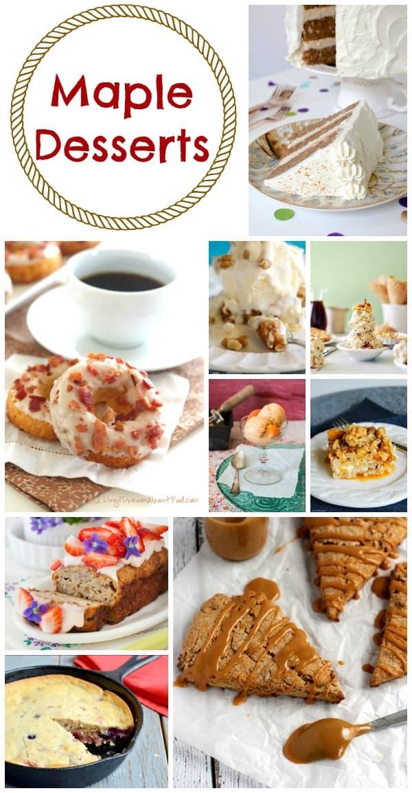 Maple Desserts