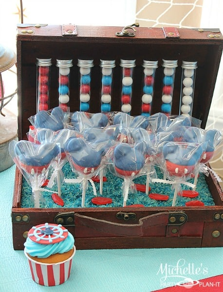 Mickey Mouse Nautical Party