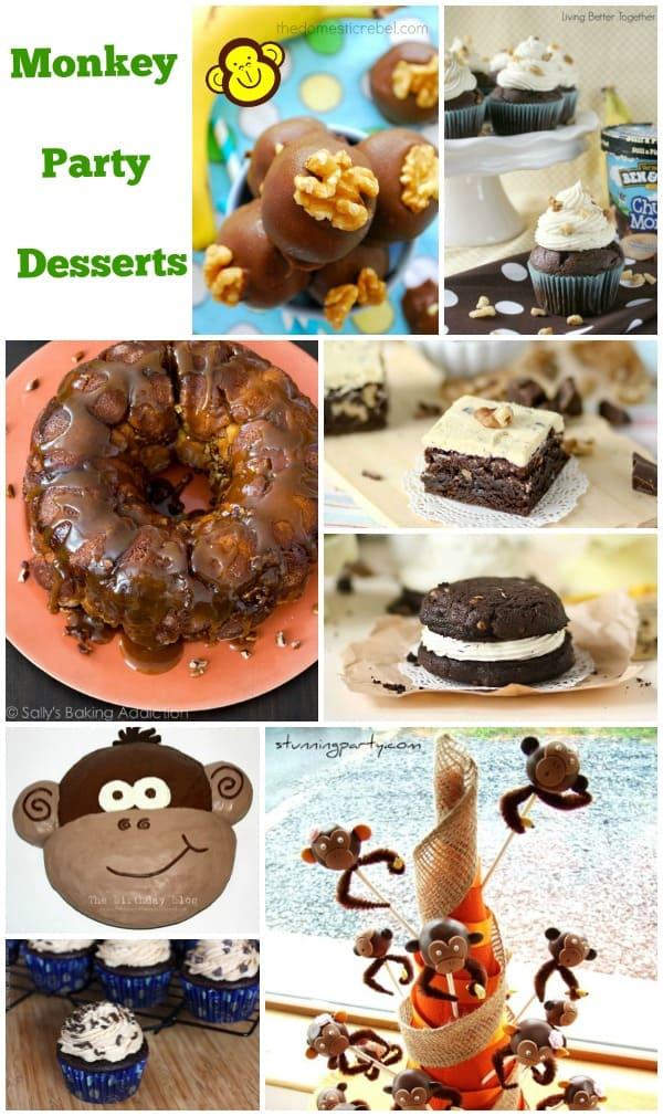 Monkey Party Food Ideas