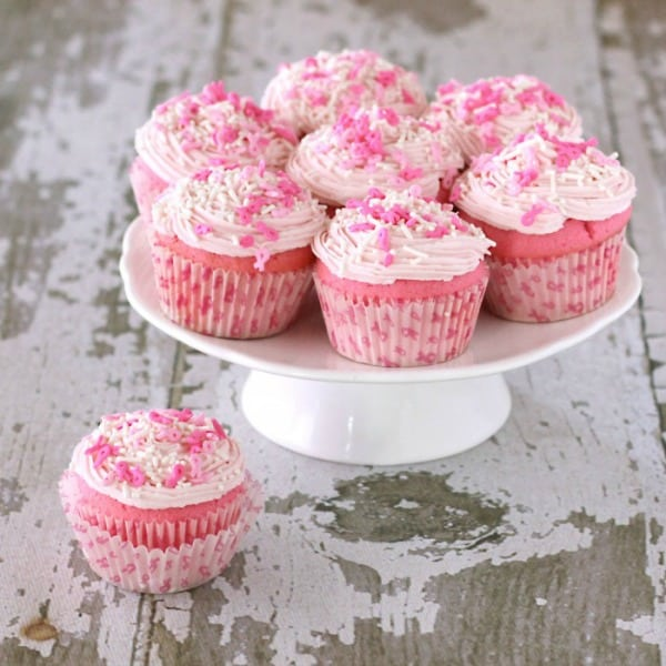 Pink Cupcakes Perfect For A Ballerina Birthday Party