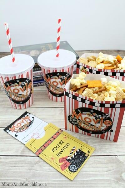 Pizza Popcorn Snack Mix