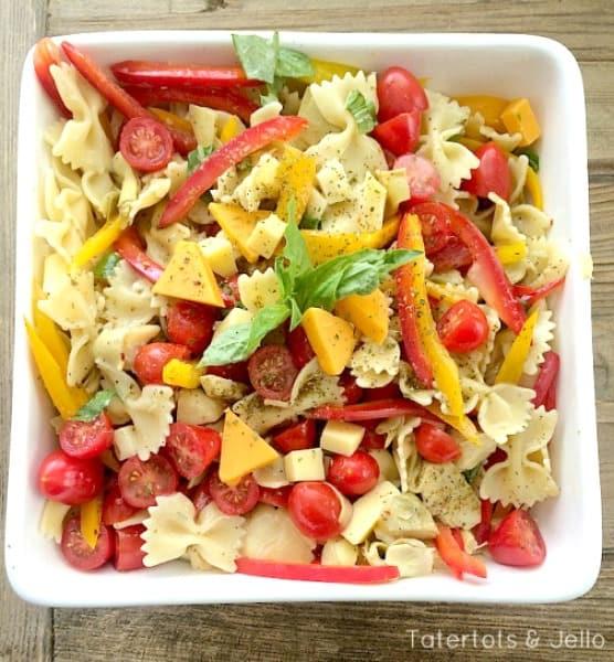 Pasta Salad Recipe Ideas Moms Munchkins