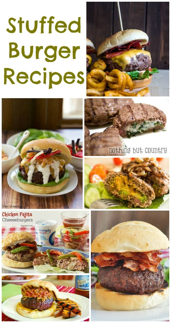 Stuffed Burger Recipes