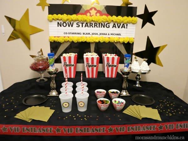 Actor Birthday Party Actors Academy Theme