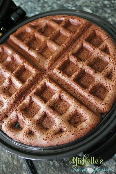 Brownie Waffles (Delicious Dessert) - Moms & Munchkins