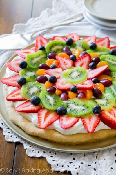Dessert Pizza Recipes