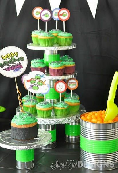 Ninja Turtle Party Ideas TMNT Moms amp Munchkins