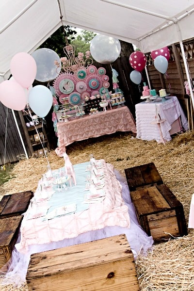 Shabby Chic Party Ideas Moms Amp Munchkins