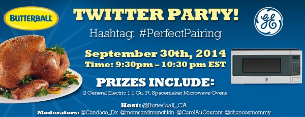 Twitter Party Butterball