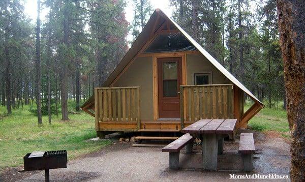 Camping In Jasper National Park Moms Amp Munchkins
