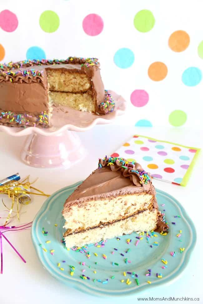 Chocolate Banana Pudding Cake Recipe
