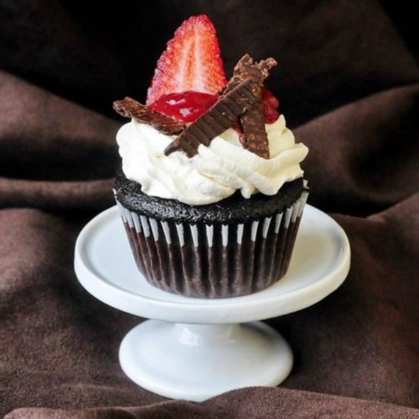 Black Forest Cake Strawberry