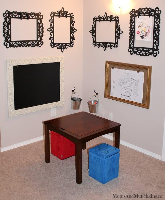 Man Cave Art Studio : Art studio for kids little man cave moms munchkins