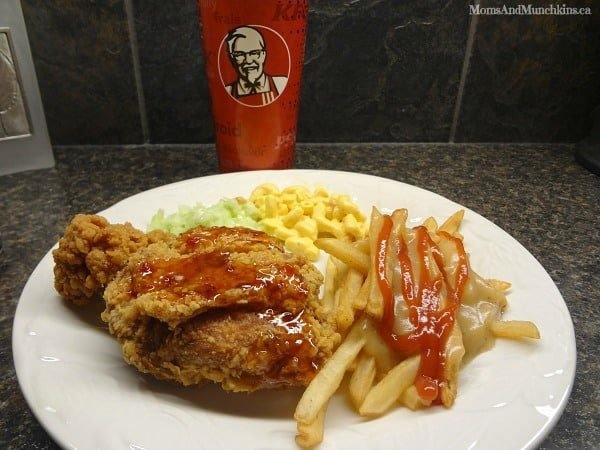 KFC Sweet Chili Crunch
