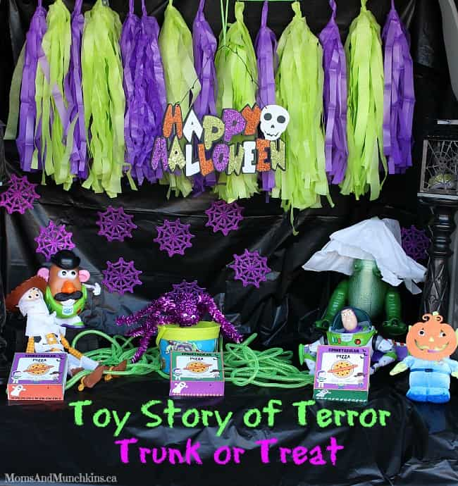Trunk Or Treat Toy Story Of Terror Moms Amp Munchkins