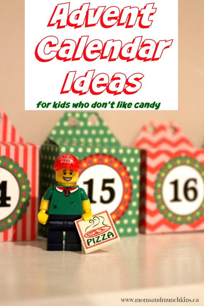 Advent Calendar Ideas What To Put In : Advent calendar ideas for kids who don t like sweets