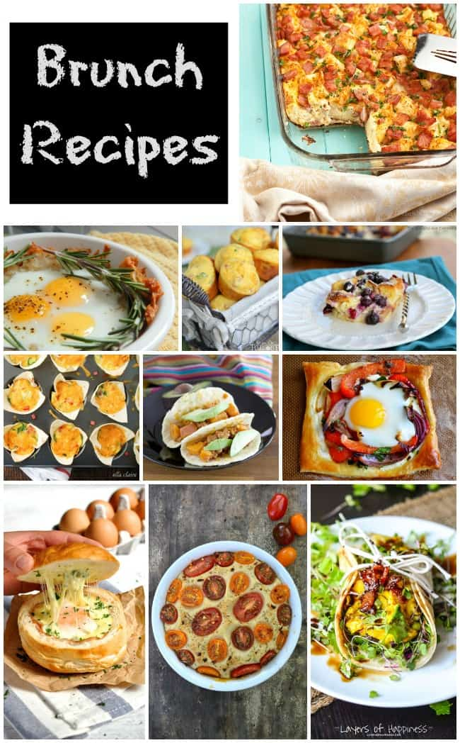 Brunch Recipe Ideas